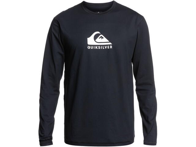 Quiksilver Solid Streak LS Surf Tee Men black